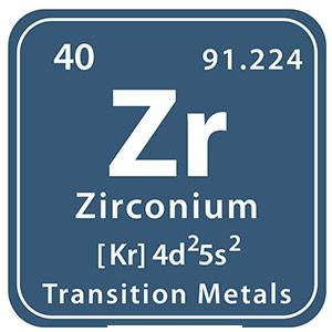 Zirconium Symbol